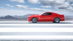 мустанг,Ford,gt500,muscle car,mustang,shelby,profile,super snake,Red,форд