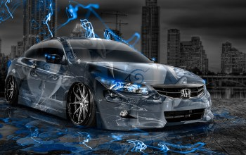 Tony kokhan,blue,aerography,accord,jdm,effects