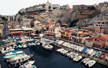 france,Vallon des auffes,гавань,марсель,marseille