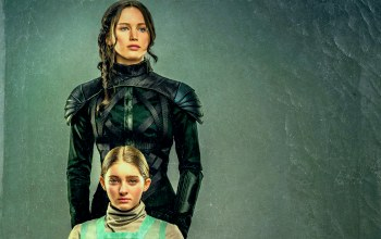 Jennifer lawrence,katniss everdeen,willow shields,Sister portrait,the hunger games