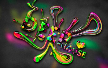 style,plastic,Tony kokhan,dj,words,deep house,multicolors,Abstract,hd wallpapers,Music