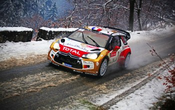 Sebastien loeb,ралли,wrc,ds3,rally,Citroen
