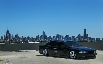 Bmw,chicago,stance, e38,чикаго
