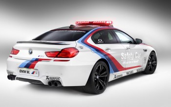 Bmw,White,safety car,gran coupe