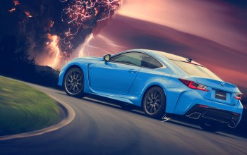 молния,hansen art,by ilpoli,rc-f,blue,rear,lexus,hansenart