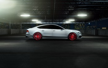 Vossen wheels,car,Audi s7,elusive motoring