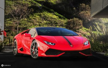 car,Lamborghini huracan,Red