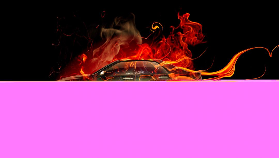 jdm,orange,car,Tony kokhan,Abstract,flame,el tony cars,fire