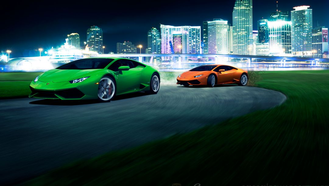 lb724,Lamborghini,lp 610-4,brige,orange