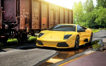 Lamborghini,yellow,lp640-4,supercar