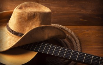 rope,wood,guitar,Hat,cowboy