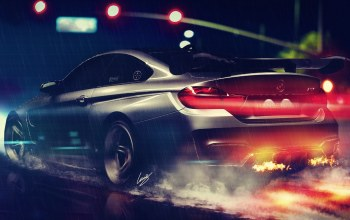 rear,hansen,gtrs4,vorsteiner,wheels,Bmw,nigth