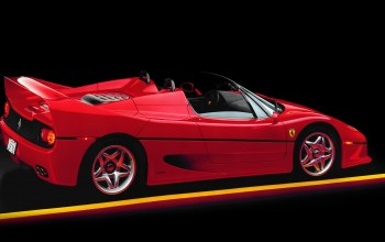 Red,Ferrari f50,supercar,Spider