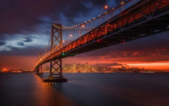 california,san francisco bay,san francisco,bay bridge