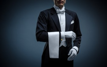 uniform,Butler,elegant