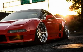 car,Red,nsx,хонда,hq wallpaper