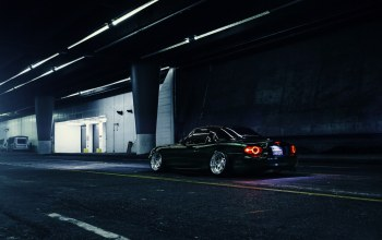 nigth,mx-5,Mazda,dark,stance,Road,rear,low