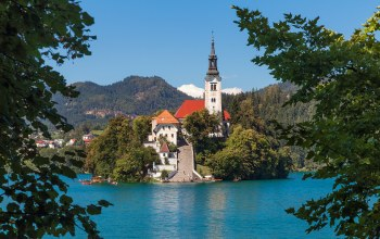 Lake bled,bled,Assumption of mary pilgrimage church,slovenia