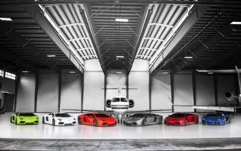 orange,blue,Lamborghini,White,supercars,Red