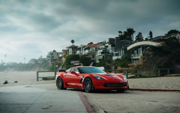 Chevrolet corvette,Red,z06,car