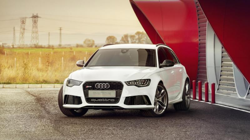 rs6,White,audi,Front