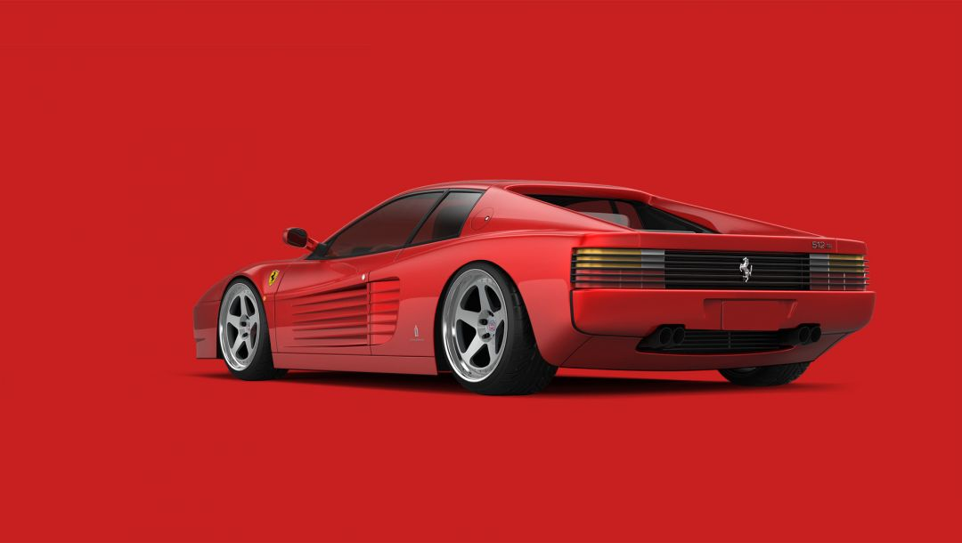 Red,testarossa,supercar,512 tr
