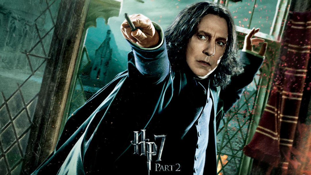 hp 7,Hogwarts,harry potter and the deathly hallows,Harry potter 7,Alan rickman,part 2