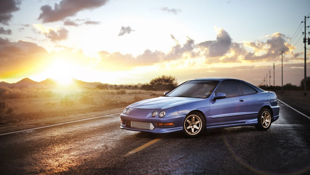 blue,integra,синий,хонда,седан,акура,acura