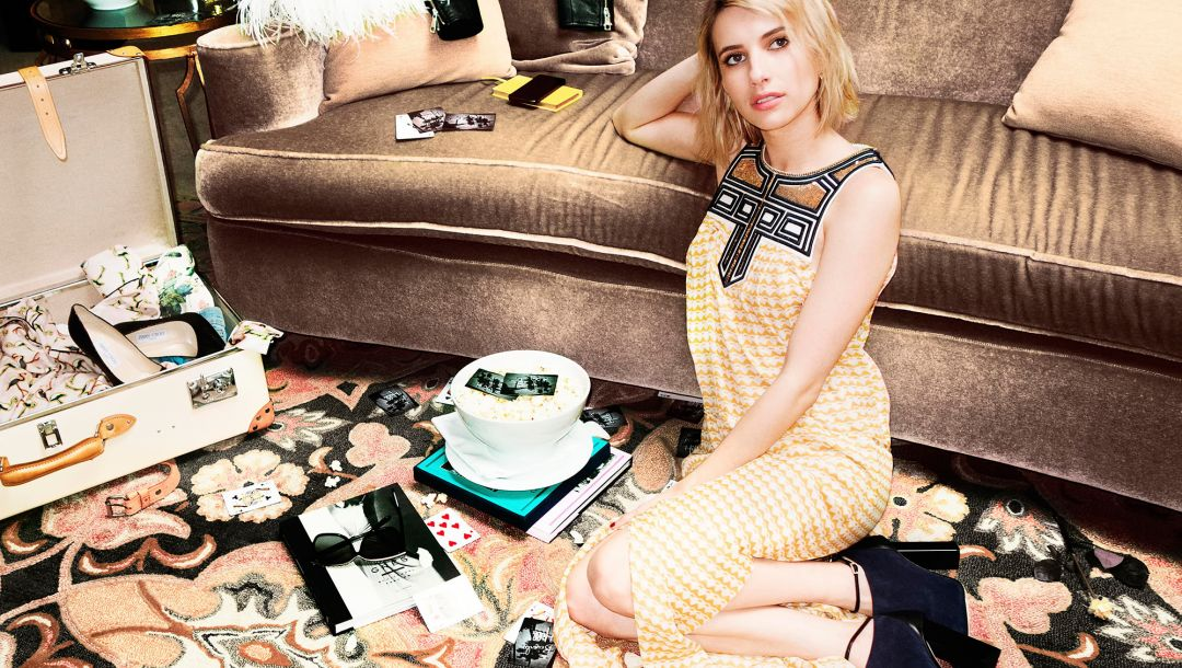 clothes,emma roberts,fashion,jimmy choo,photoshoot