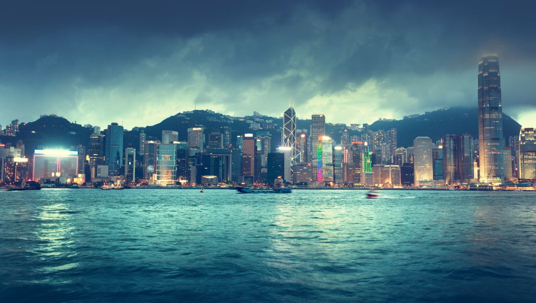 lights,clouds,sky,ships,buildings,skyline,china,river