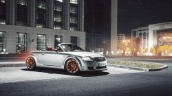 roadster,car,hq wallpaper,Audi tt,ночь