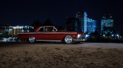 chevrolet,Front,impala,Muscle,night,american,car,1962