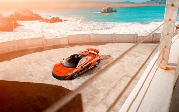 car,beauty,orange,Mclaren,supercar