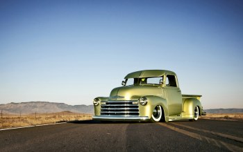 headlight,chopped,1949,wheels,hill,Road,sky,horizon,chevrolet