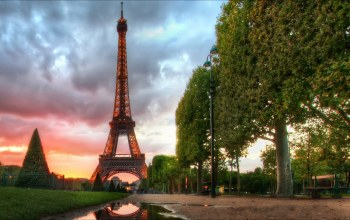 Eiffel tower,paris,morning,эйффелевая башня,france
