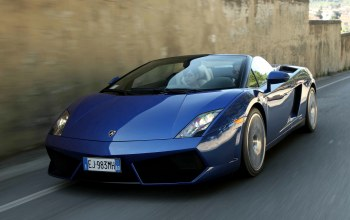 в движении,lp550-2,spyder,Speed,car,Lamborghini