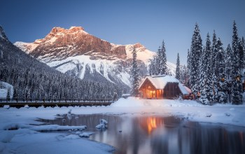 yoho national park,canadian rockies,british columbia,canada,Emerald lake