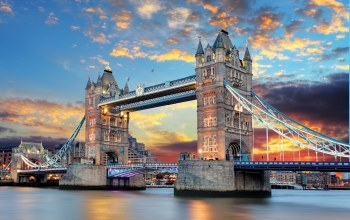 тауэрский мост,tower bridge,thames river,england,london