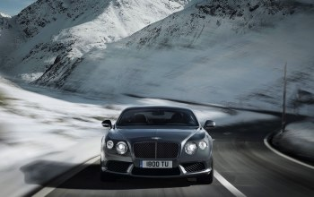 передок,bentley,continental,v8,range,серый