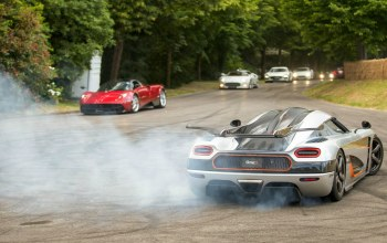spyker,smoke,burnout,koenigsegg,power,one:1,supercar