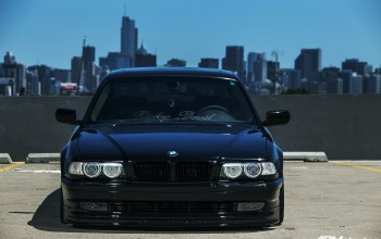 Bmw, e38,chicago,stance,чикаго