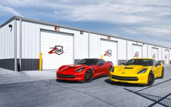шевроле,stingray,corvette,c7,Red,корвет,yellow,chevrolet