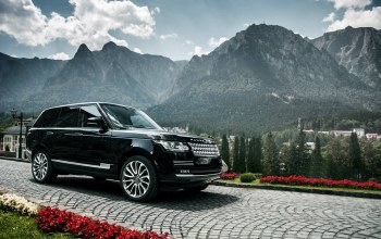 range rover,mountains