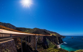 pacific ocean,Big sur,pacific coast highway,мост биксби,Bixby bridge,california