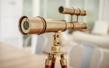 decorative,Gold,telescope
