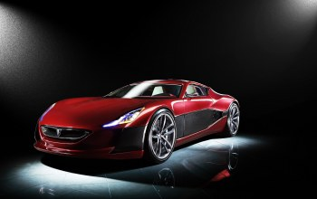 Rimac,concept,One,Red