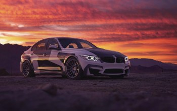 M3,Bmw,Sunset,clouds,and,White,sky,light