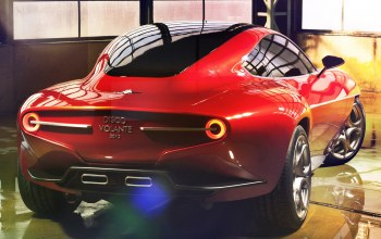 disco volante,superleggera,touring,concept,2012,концепт