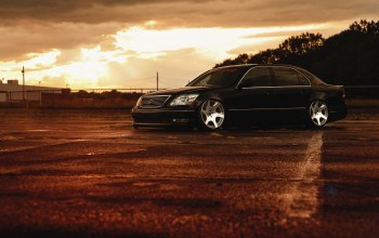 jdm,ls 430,lexus,stance,Sunset,Color,low
