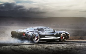 ford gt,burnout,supercar